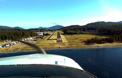 Aerial photo of KORS (Orcas Island Airport)