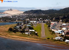 Aerial photo of KPFC (Pacific City State Airport)