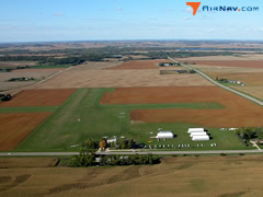 Aerial photo of KSYN (Stanton Airfield)