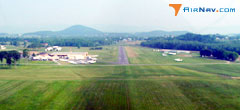 Aerial photo of KVBW (Bridgewater Air Park)