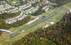 Aerial photo of KVKX (Potomac Airfield)