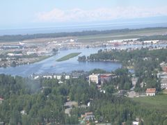 Aerial photo of PALH (Lake Hood Seaplane Base)
