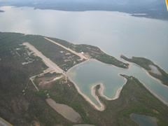 Aerial photo of PALJ (Port Alsworth Airport)