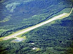 Aerial photo of PARY (Ruby Airport)