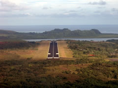 Aerial photo of PTRO (Babelthuap/Koror Airport)
