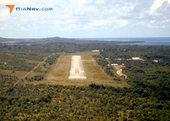 Aerial photo of PTYA (Yap International Airport)