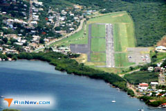 Aerial photo of TJCP (Benjamin Rivera Noriega Airport)