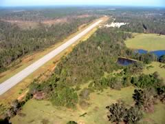 Aerial photo of 67A (Fort Deposit-Lowndes County Airport)