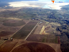 Aerial photo of A28 (Fort Bidwell Airport)