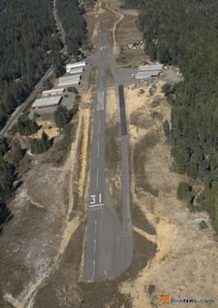 Aerial photo of E55 (Ocean Ridge Airport)