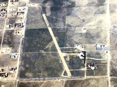 Aerial photo of 1CL1 (Little Buttes Antique Airfield)