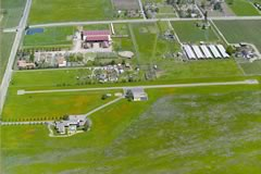 Aerial photo of 63CN (Meadowlark Field Airport)