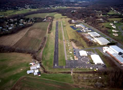Aerial photo of 7B9 (Ellington Airport)