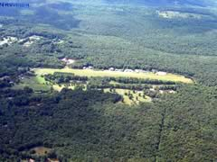Aerial photo of 9B8 (Salmon River Airfield)