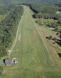 Aerial photo of 11N (Candlelight Farms Airport)