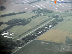 Aerial photo of 0N4 (Chandelle Estates Airport)