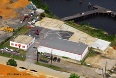Aerial photo of 09W (South Capitol Street Heliport)