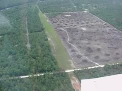 Aerial photo of 9FL5 (Shady Bend Airport)