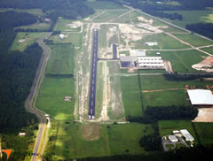 Aerial photo of F95 (Calhoun County Airport)