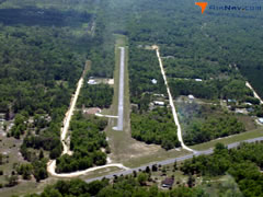 Aerial photo of FA71 (Cedars Airfield)
