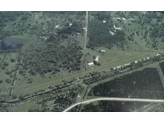 Aerial photo of 0FL0 (Harper's Fly-In Ranch Airport)