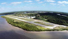 Aerial photo of X01 (Everglades Airpark)