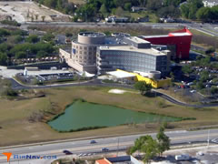 Aerial photo of 76FL (Health Central Heliport)