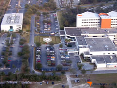 Aerial photo of 3FL2 (Florida Hospital-Fish Memorial Heliport)
