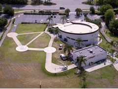 Aerial photo of 2FD7 (Air Orlando Heliport)