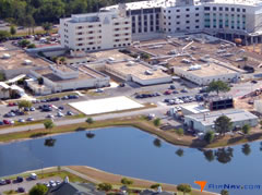 Aerial photo of FD36 (Florida Hospital East Orlando Heliport)