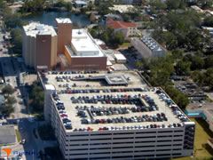 Aerial photo of 3FD5 (Arnold Palmer Hospital Heliport)