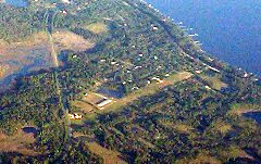 Aerial photo of 2J0 (Wakulla County Airport)