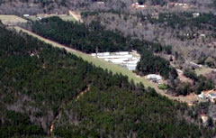 Aerial photo of 61GA (Pea Patch Aerodrome)