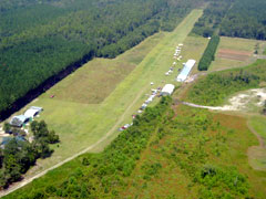 Aerial photo of 9GA1 (Briar Patch Airport)