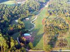 Aerial photo of 6GA4 (Spring Valley Farm Airport)