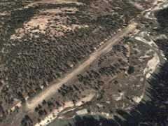 Aerial photo of 52U (Weatherby USFS Airport)