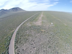Aerial photo of U46 (Big Southern Butte Airport)