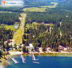 Aerial photo of 66S (Cavanaugh Bay Airport)