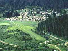 Aerial photo of ID85 (Elk River Airport)