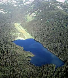 Aerial photo of S92 (Fish Lake USFS Airport)
