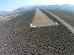 Aerial photo of U92 (Antelope Valley Airport)