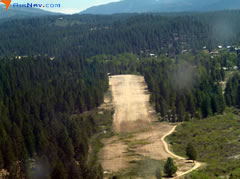 Aerial photo of U98 (Idaho City USFS Airport)
