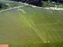 Aerial photo of U53 (Henry's Lake Airport)