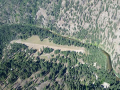 Aerial photo of 24K (Krassel USFS Airport)