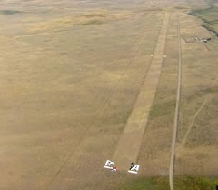 Aerial photo of 0U2 (Copper Basin Airport)