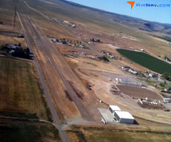 Aerial photo of 1U6 (Oakley Municipal Airport)