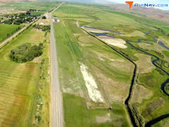 Aerial photo of ID82 (Picabo Airport)