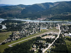 Aerial photo of 1S6 (Priest River Municipal Airport)