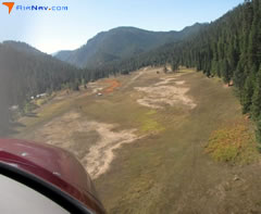 Aerial photo of 2U5 (Shearer USFS Airport)