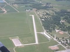 Aerial photo of C66 (Monmouth Municipal Airport)